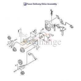 HP LJ9000 FUSER DEL MOTOR - RH7-1622