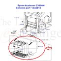 Epson Aculaser C3800N Front Cover 1448816 MP Assy MSI